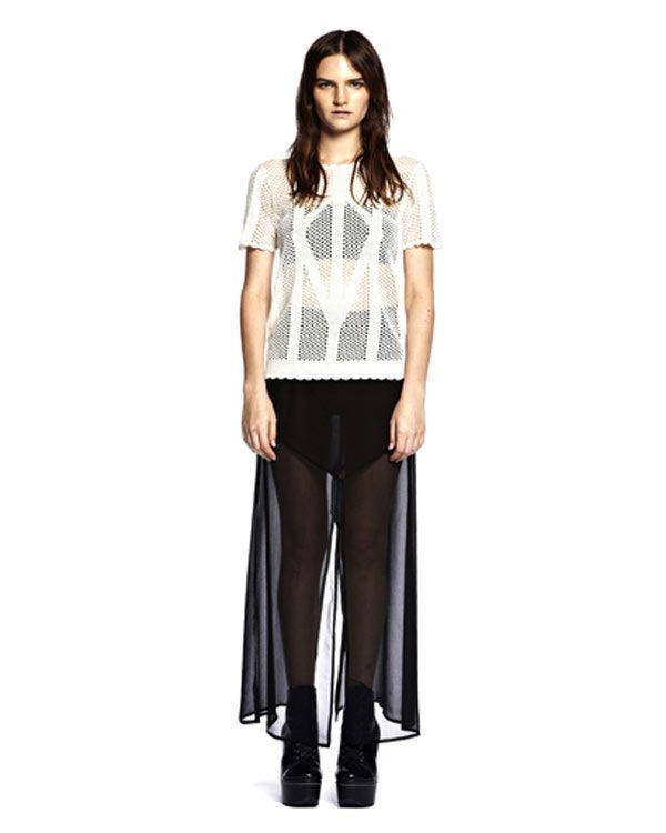 Something Else Indigo Top - All Tops - Clothing - Birdmotel Online Store