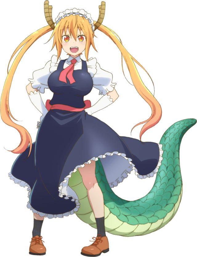 """""""Miss Kobayashi's Dragon Maid"""" Upcoming Anime"""