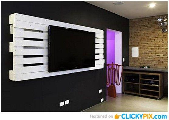 tv hangers. diy tv wall hanger - http://www.clickypix.com/diy tv hangers