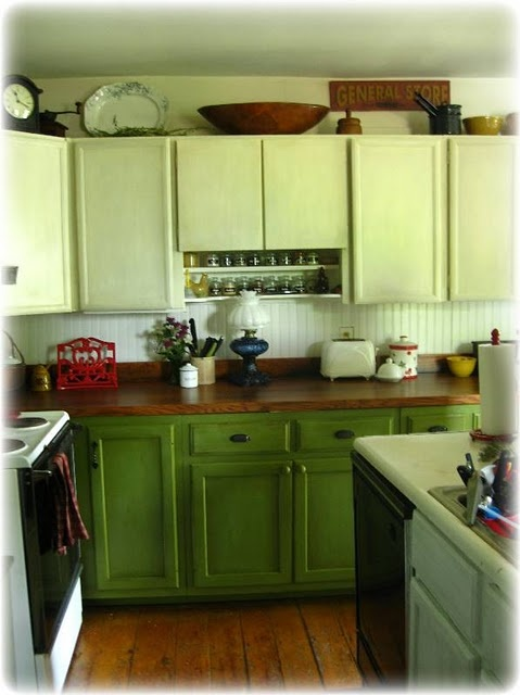 Chalk Paint Cabinets In The Kitchen Pinterest Chalk