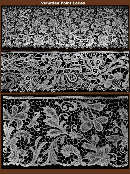 Venetian Point Lace. Can you even imagine doing all of that by hand?
