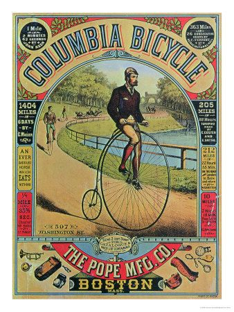 Vintage Bicycle Posters | Bicycle Vintage Posters http://www.uksportsoutdoors.com/product/charge-cooker-midi-0-2016-27-5-mountain-bike-grey-large-ex-display/