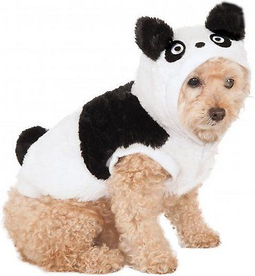 Rubie's Costume Company Panda Dog & Cat Costume, X-Small - Chewy.com