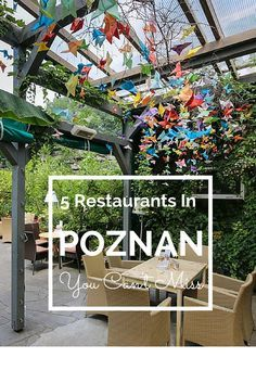 5 Restaurants In Poznan You Can't Miss. TRAVEL WITH BENDER | Food Travel in Poland made easy.