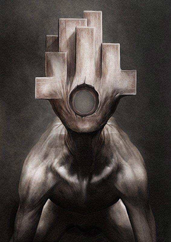 Howard Swindell -Concept Art: Silent Hill