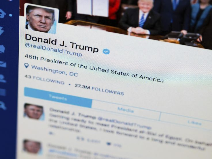 Donald Trump blocking accounts on Twitter 'violates US Constitution' - The Independent