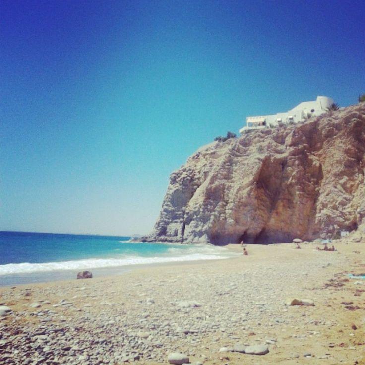 Playa del Paraíso, Villajoyosa.