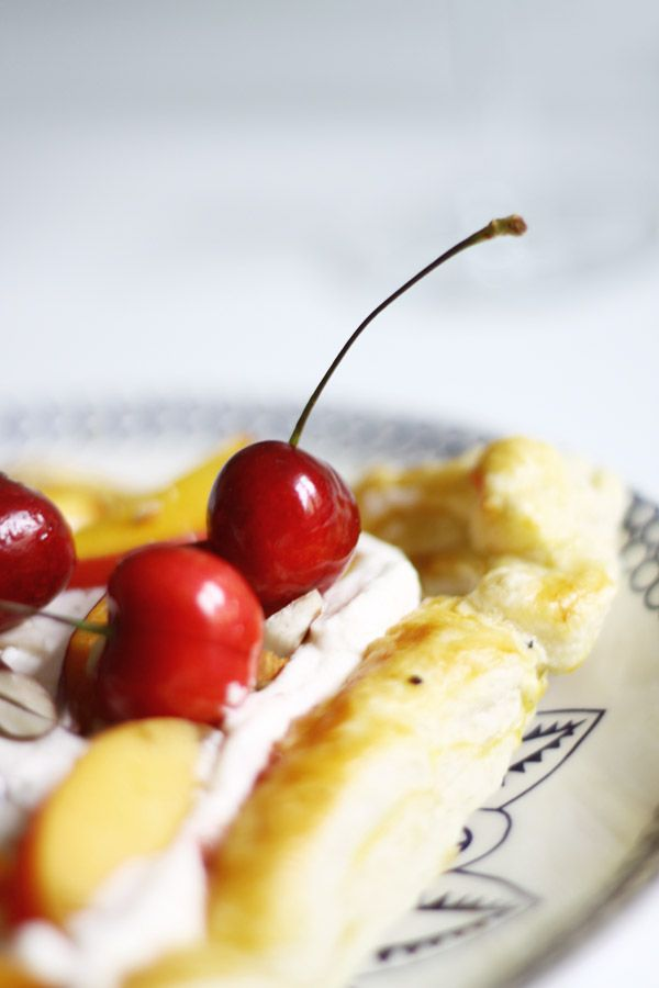 nektariini mascarpone torttu