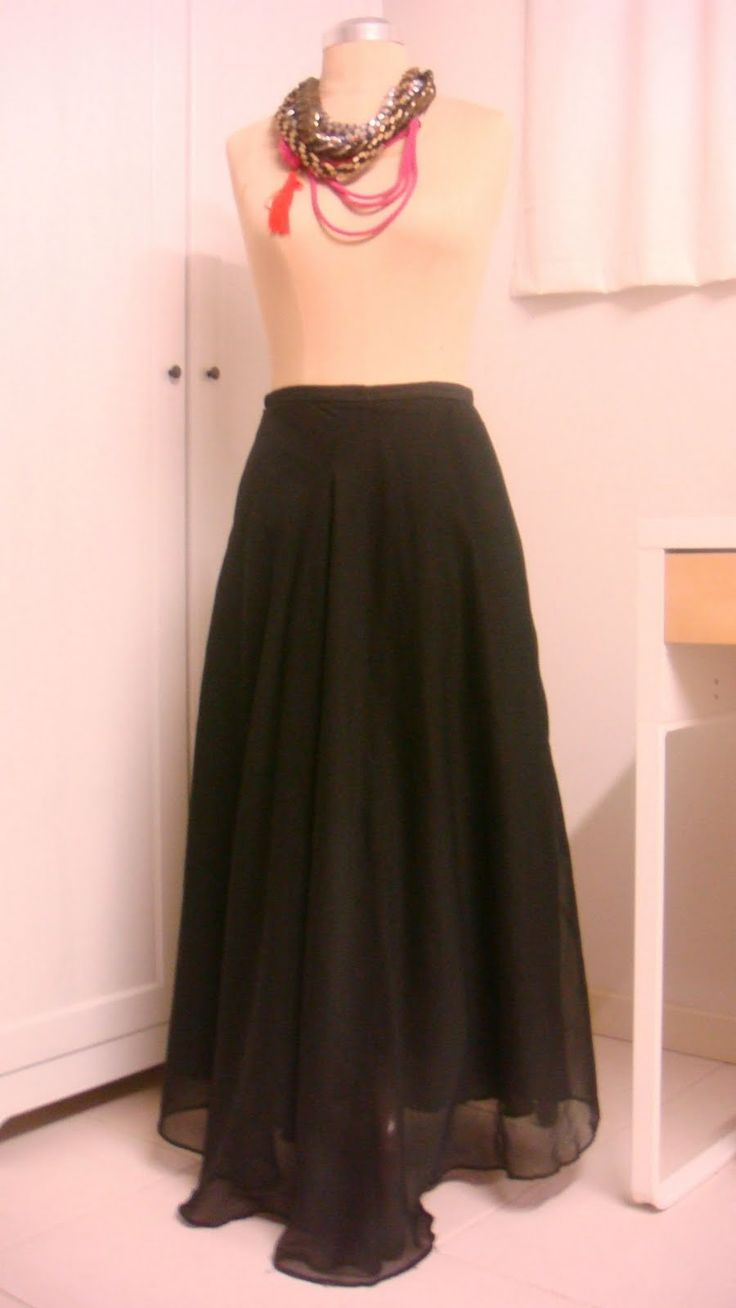 Maxi Skirt Tutorial - The Pattern