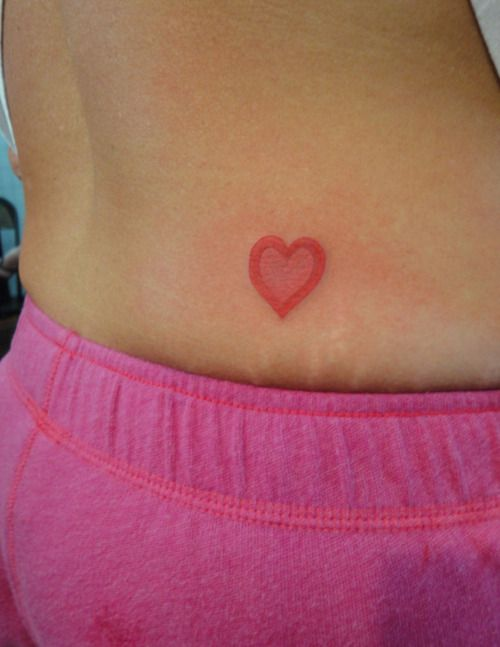 tanning heart turned tattoo – Tattoo Picture at CheckoutMyInk.com