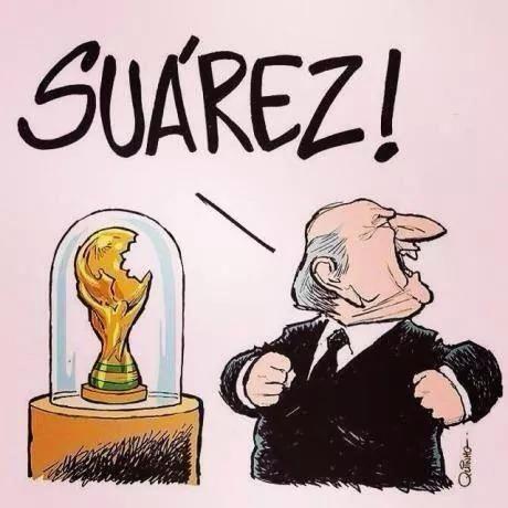 Suarez! Again!