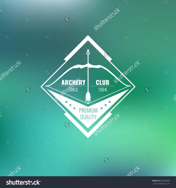 Vintage Archery Club Logos | www.logoary.com - Popular Brands ...