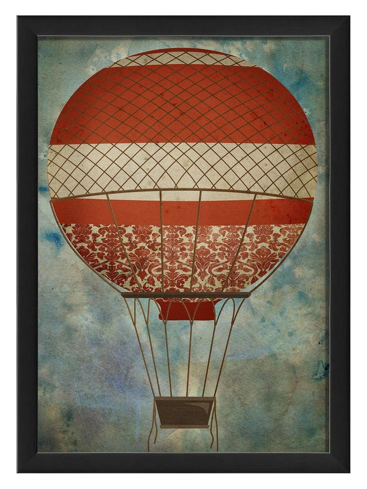 Hot Air Balloon 5 - Gilt Home