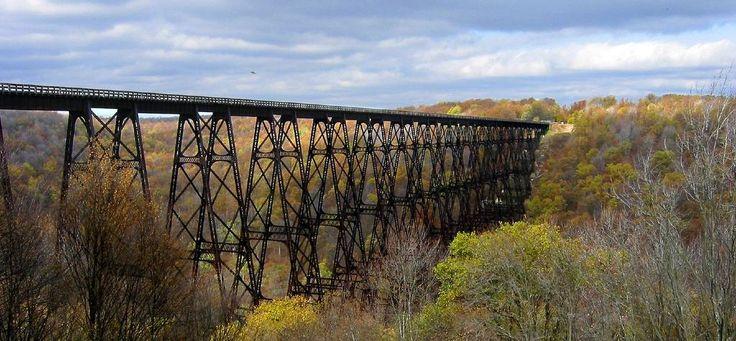 Kinzua Bridge: Once the World's Longest Railroad Bridge, Destroyed by Tornado ~ Kuriositas