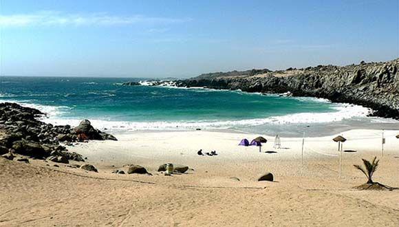 El ambiente: En este cuento el ambiente es una playa en Chile