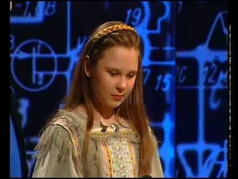 Пелагея в 11 лет. Старый телевизор - YouTube