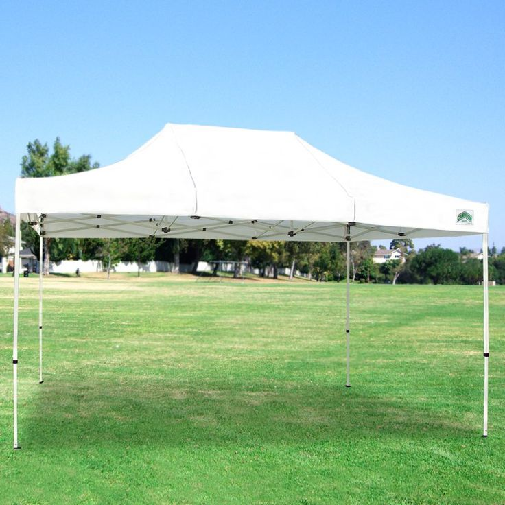 Caravan Sports 10x15 ft. Classic 500 Denier Heavy Duty Commercial Canopy White - 21503206012