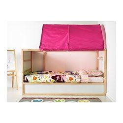 KURA Tente pour lit, rose - - - IKEA