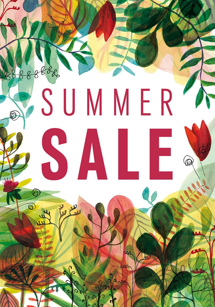 Sofa Workshop. Summer Sale 2016 - campaign poster