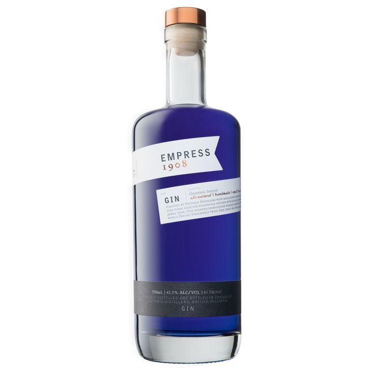 Empress 1908 gin 750ml bottle with images bottle