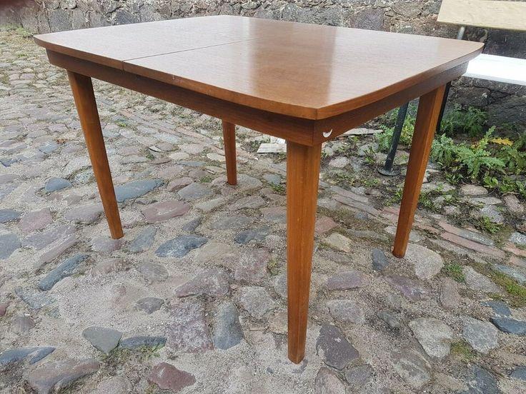 Einzigartiger Originaler Ausziehbarer Mufuti Ddr Produkt Multifunktionstisch Couchtisch Und Esstisch In Einem Aus Den 60er Ja Couchtisch Esstisch Tisch