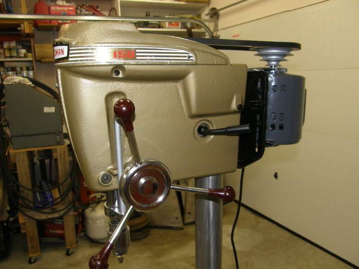 Mid 50s Craftsman Floor Drill Press Tools Pinterest