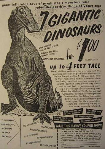 "from ""The Dinosaur Scrapbook"""