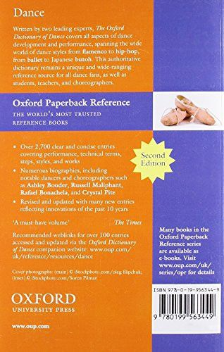 The Oxford Dictionary of Dance (Oxford Quick Reference)
