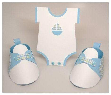 Moldes de zapatitos de niño para baby shower - Imagui   MI BEBE ...