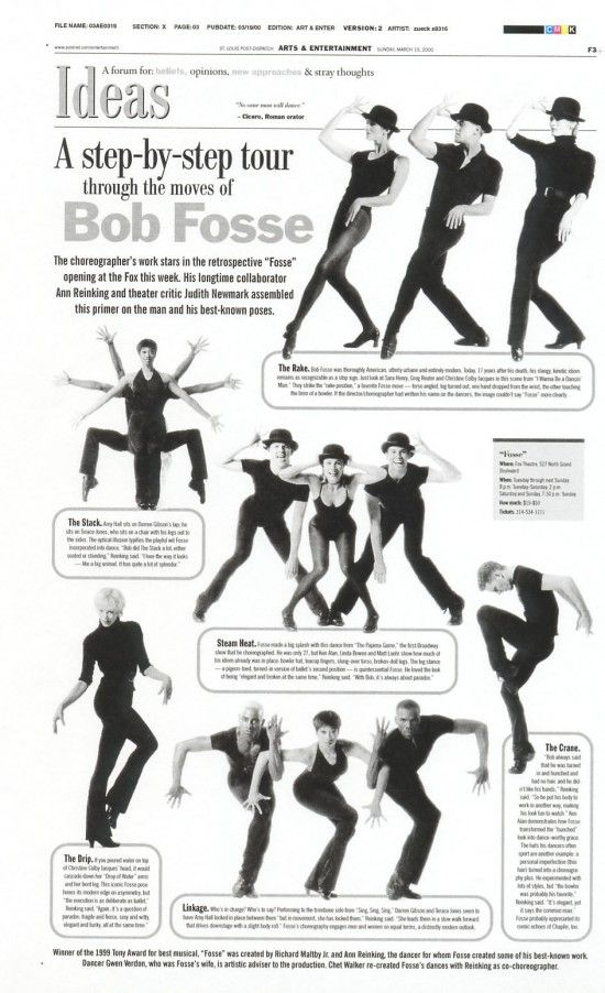 the moves of Bob Fosse