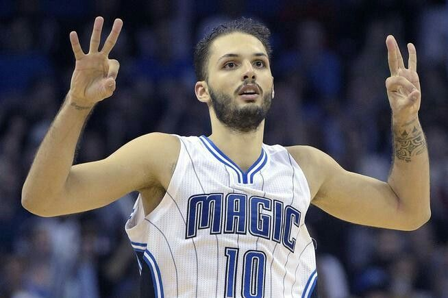 Evan Fournier stays put in Orlando with a new 5 year/$85 million contract.