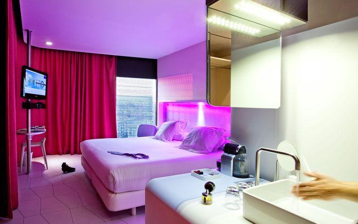 Los hoteles con las habitaciones m s raras especiales e for Hoteles con habitaciones cuadruples en barcelona