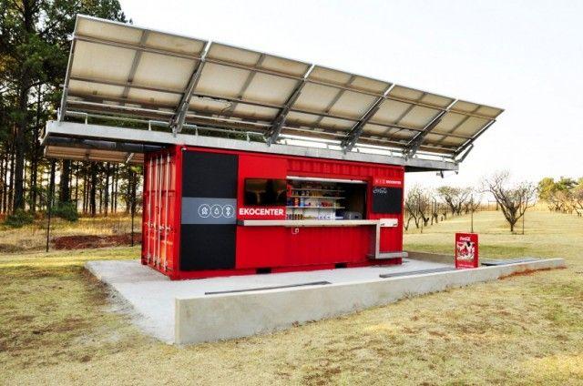 Coca-Cola Ekocenter Container