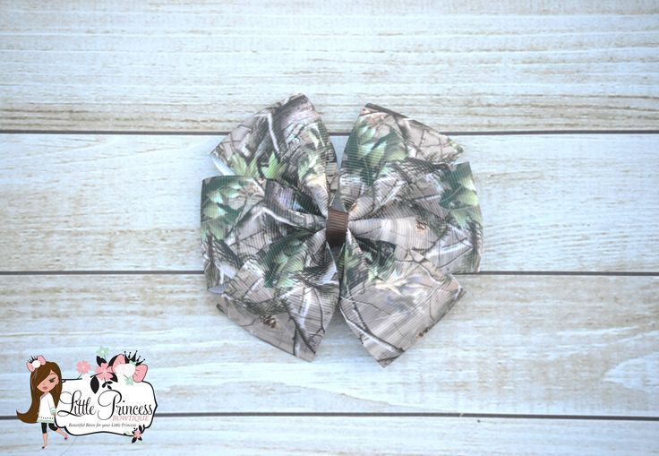 Camo Hairbow, Camo Bow, Camo Pinwheel Bow, Pinwheel Hairbow, Party Favors, Gifts under 5, Camo by LilPrincessBowtique8 on Etsy