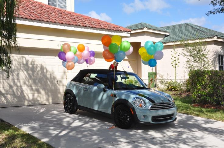 Volkswagen Beetle Convertible >> Furbie's Surprise. My graduation gift! (Mini Cooper ...
