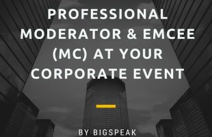 Why Use A Professional Moderator & Emcee (MC) At Your Corporate Event