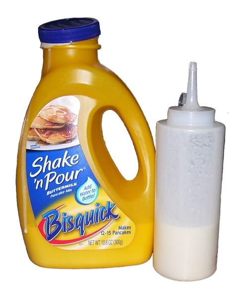 A camping staple.: Camps Ideas, Ketchup Bottle