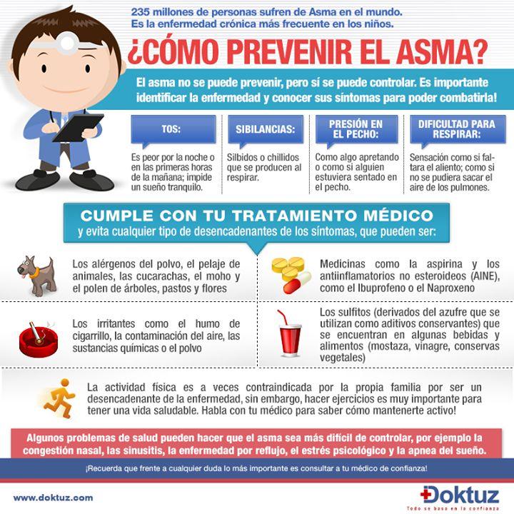 ¿Cómo prevenir el asma? https://doktuz.com/wikidoks/prevencion