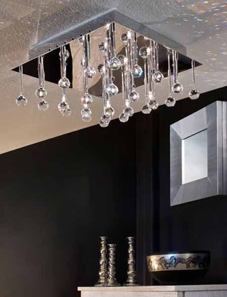 Best Ceiling Lighting Fixtures For Your Living Room Design, Modern  Chandeliers