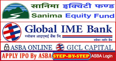 How to Apply Today for Sanima Mutual Fund Using Online ASBA Service (Step-by-Step Process of Global IME Bank Online ASBA)   SEBON had compulsorily implemented Applications Supported by Blocked Amount (ASBA) system from Shrawan 1 2074 for public issues (IPO/FPO/MF) and Sanima Capital Ltd. is the next company issuing its Sanima Equity Fund from full ASBA services all over Nepal starting from Tuesday November 28th 2017. Global IME Bank (GBIME) like several other banks has come up with online…