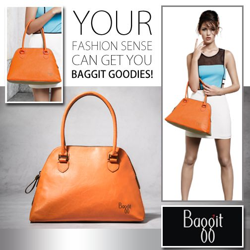 Baggit goodies for your fashion delight. Your chance to get a hold of it! All you have to do is comment below and tell us how you will create a gorgeous look for yourself with this amazing Baggit bag.  Get Innovative with Fashion and Think Classy!