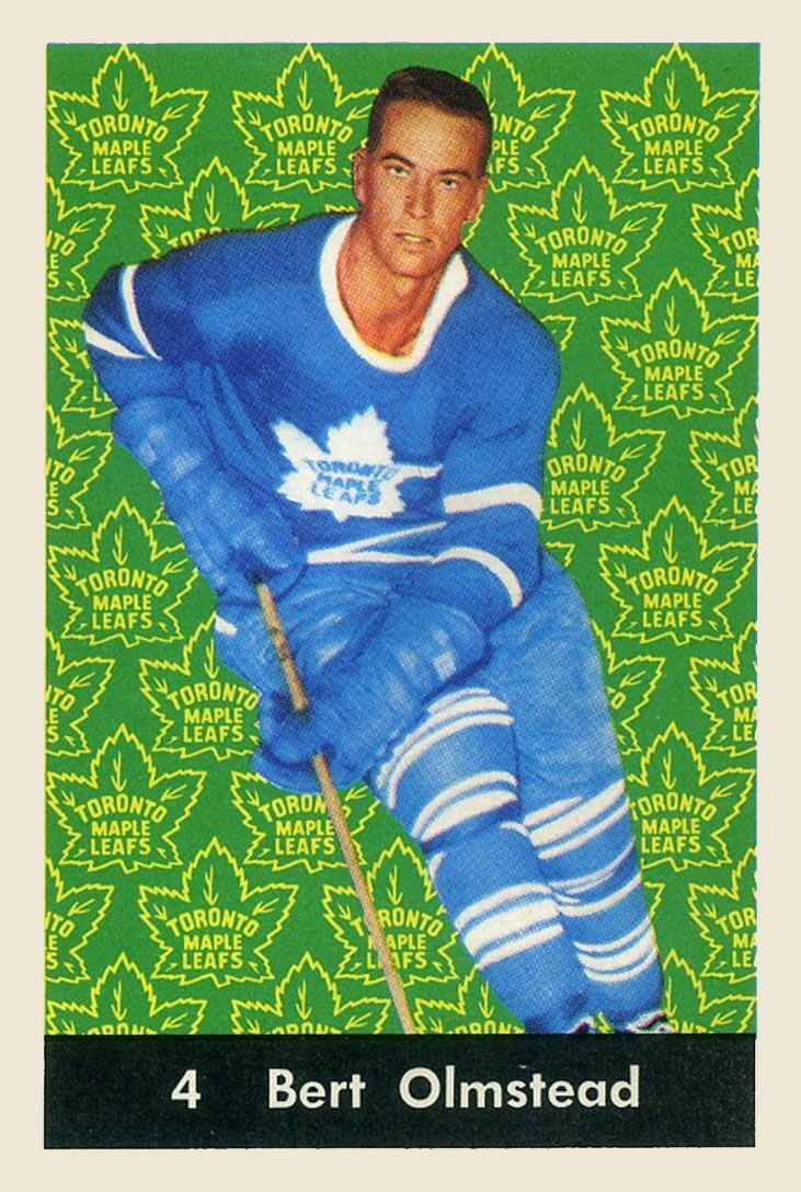 1961-62  Parkhurst Hockey Card