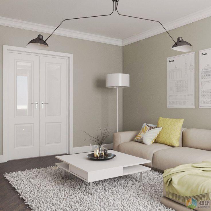 Дизайн-проект квартиры в скандинавском стиле, скандинавский интерьер