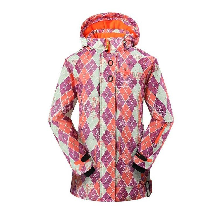 Detector Women Ski Snow Jacket Snowboard Winter Waterproof Windproof Coat Warm Ski Jacket Women