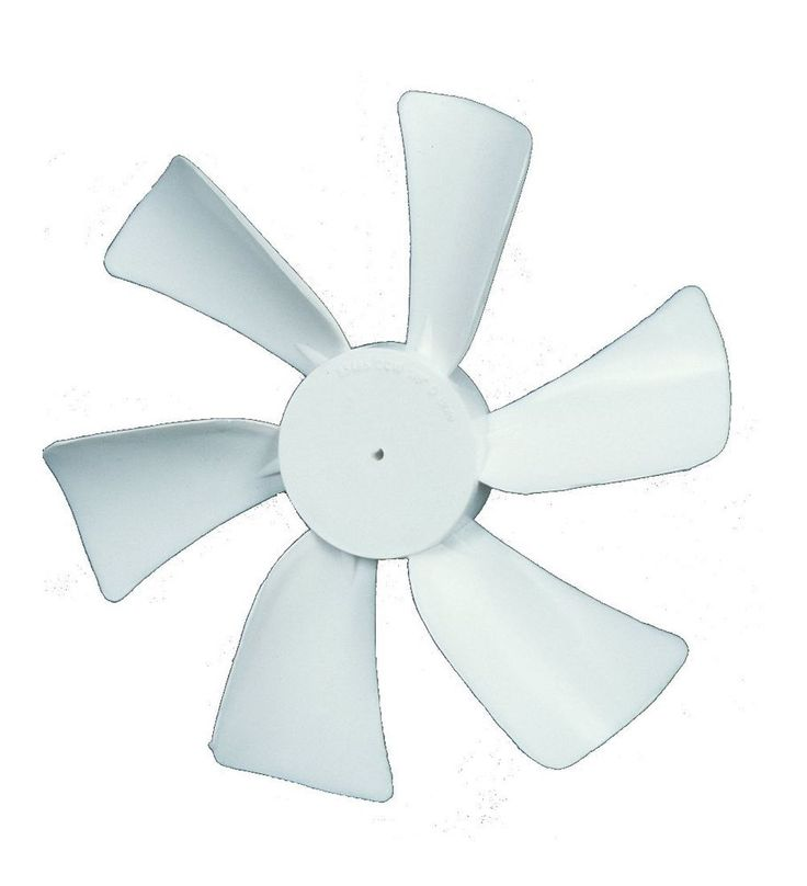 RV Camper Roof Bathroom Vent Fan  Replacement 6 Blade 12 Volt White Trailer New #Ventmate