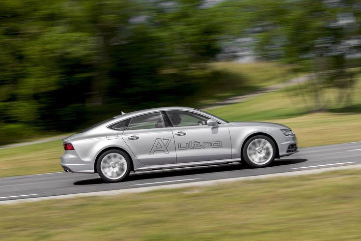 Essai Audi A7 Sportback TDI Ultra (2014) : l'obsession du rendement - L'argus