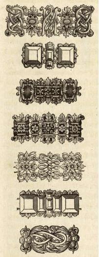 Baroque jewelry...17th century