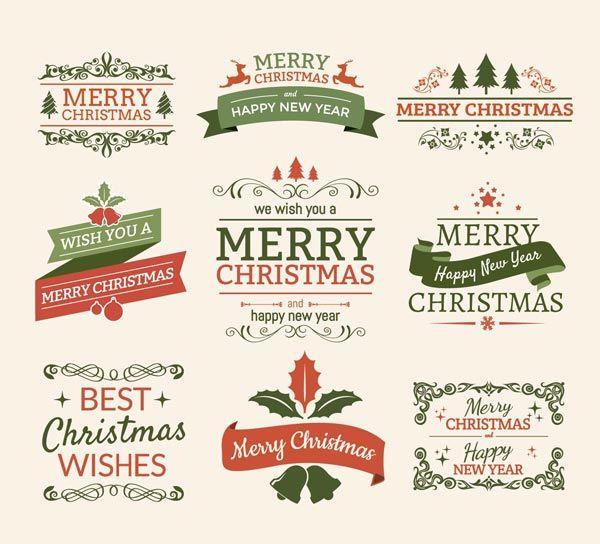 [Ressources] – 50 éléments créatifs pour vos cartes de Noël