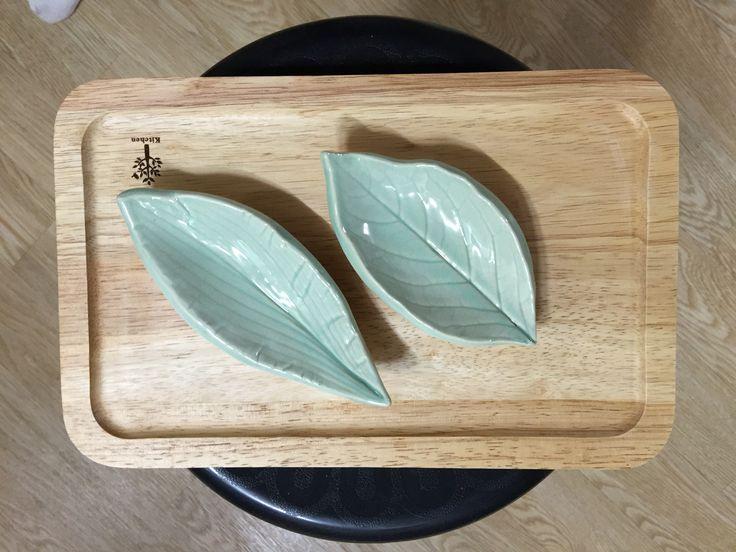 나뭇잎 개인접시