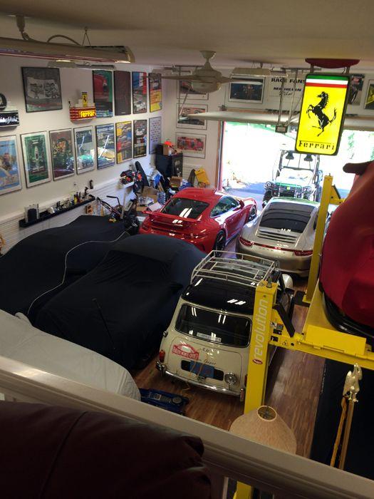 Customer photos at car guy garage for Over car garage storage